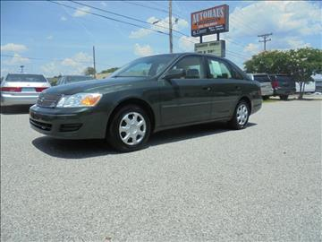 2001 Toyota Avalon for sale at Autohaus of Greensboro in Greensboro NC