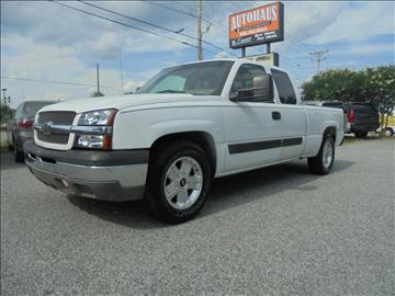 2004 Chevrolet Silverado 1500 for sale at Autohaus of Greensboro in Greensboro NC