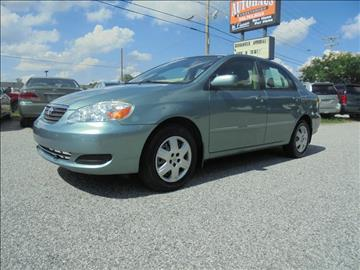 2005 Toyota Corolla for sale at Autohaus of Greensboro in Greensboro NC