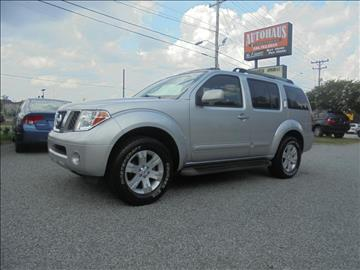2007 Nissan Pathfinder for sale at Autohaus of Greensboro in Greensboro NC
