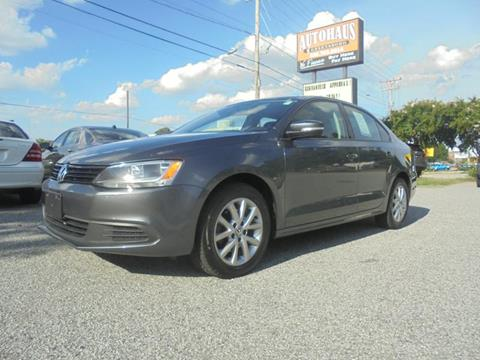 2012 Volkswagen Jetta for sale at Autohaus of Greensboro in Greensboro NC