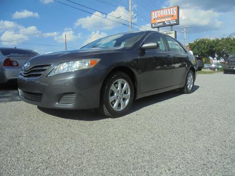 2011 Toyota Camry for sale at Autohaus of Greensboro in Greensboro NC