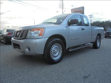 2009 Nissan Titan for sale at Autohaus of Greensboro in Greensboro NC