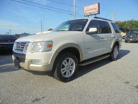 2008 Ford Explorer for sale at Autohaus of Greensboro in Greensboro NC