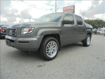 2007 Honda Ridgeline for sale at Autohaus of Greensboro in Greensboro NC