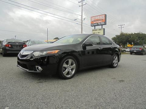 2011 Acura TSX for sale at Autohaus of Greensboro in Greensboro NC