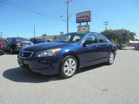 2009 Honda Accord for sale at Autohaus of Greensboro in Greensboro NC