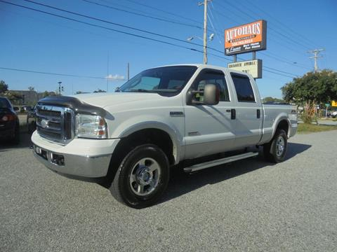 2006 Ford F-250 Super Duty for sale at Autohaus of Greensboro in Greensboro NC