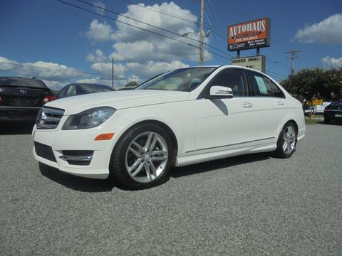 2013 Mercedes-Benz C-Class for sale at Autohaus of Greensboro in Greensboro NC