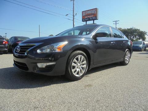 2013 Nissan Altima for sale at Autohaus of Greensboro in Greensboro NC