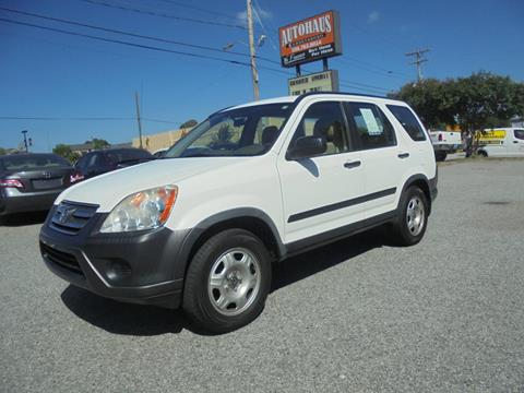 2006 Honda CR-V for sale at Autohaus of Greensboro in Greensboro NC