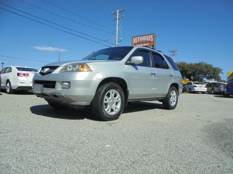 2006 Acura MDX for sale at Autohaus of Greensboro in Greensboro NC