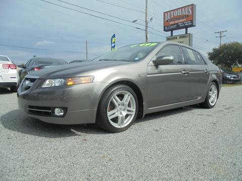 2008 Acura TL for sale at Autohaus of Greensboro in Greensboro NC