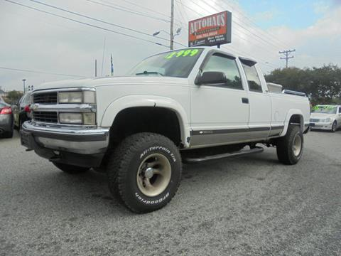 1994 Chevrolet C/K 1500 Series for sale at Autohaus of Greensboro in Greensboro NC
