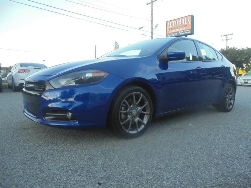 2013 Dodge Dart for sale at Autohaus of Greensboro in Greensboro NC