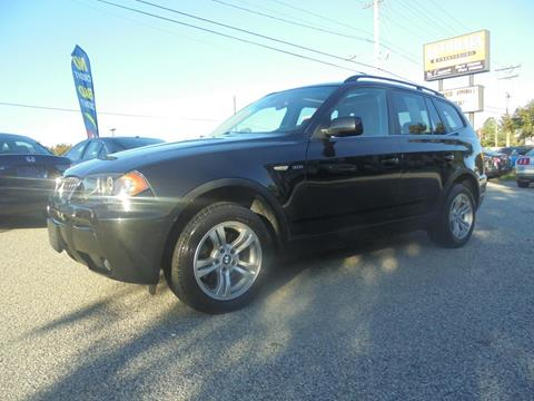2006 BMW X3 for sale at Autohaus of Greensboro in Greensboro NC