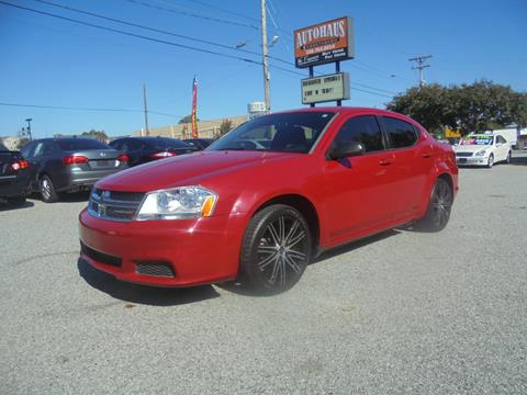 2014 Dodge Avenger for sale at Autohaus of Greensboro in Greensboro NC