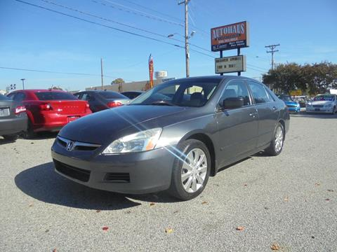 2006 Honda Accord for sale at Autohaus of Greensboro in Greensboro NC