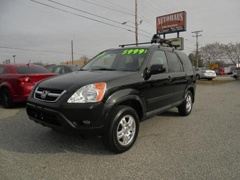 2003 Honda CR-V for sale at Autohaus of Greensboro in Greensboro NC