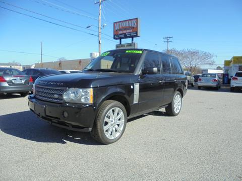 2006 Land Rover Range Rover for sale at Autohaus of Greensboro in Greensboro NC