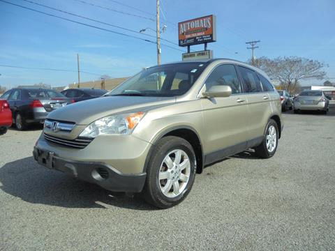 2007 Honda CR-V for sale at Autohaus of Greensboro in Greensboro NC