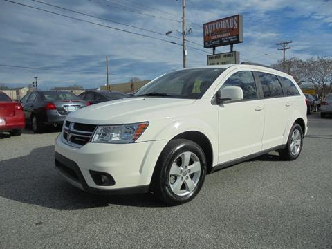 2012 Dodge Journey for sale at Autohaus of Greensboro in Greensboro NC