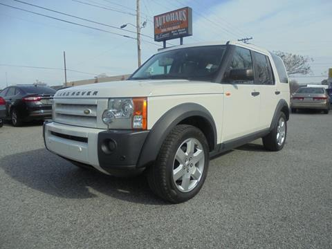 2008 Land Rover LR3 for sale at Autohaus of Greensboro in Greensboro NC