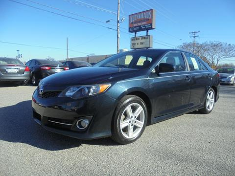 2013 Toyota Camry for sale at Autohaus of Greensboro in Greensboro NC