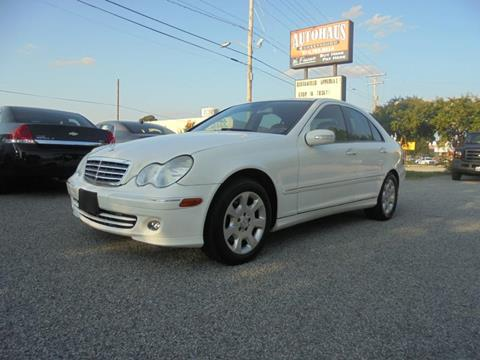 2006 Mercedes-Benz C-Class for sale at Autohaus of Greensboro in Greensboro NC