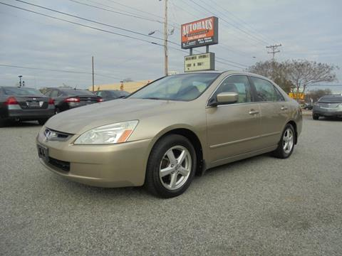 2004 Honda Accord for sale at Autohaus of Greensboro in Greensboro NC