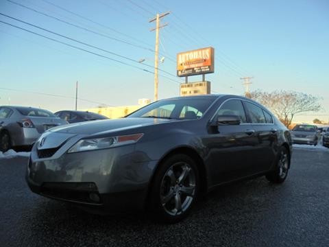 2010 Acura TL for sale at Autohaus of Greensboro in Greensboro NC