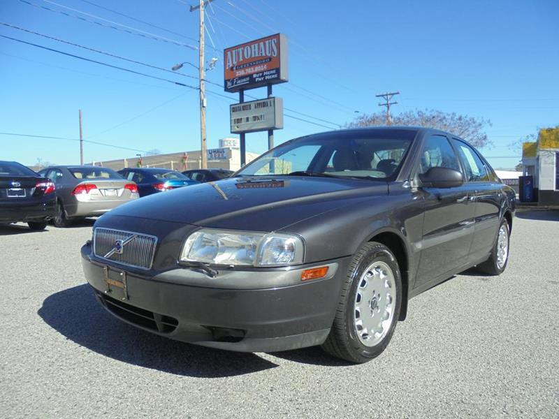 1999 Volvo S80 for sale at Autohaus of Greensboro in Greensboro NC