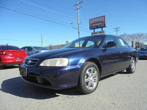 2000 Acura TL for sale at Autohaus of Greensboro in Greensboro NC