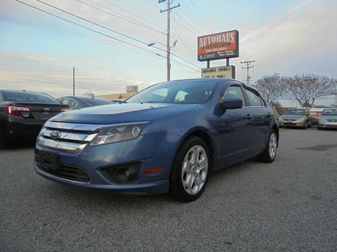 2010 Ford Fusion for sale at Autohaus of Greensboro in Greensboro NC