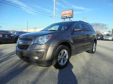 2012 Chevrolet Equinox for sale at Autohaus of Greensboro in Greensboro NC