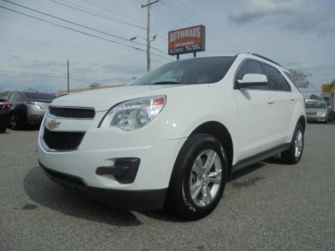 2015 Chevrolet Equinox for sale at Autohaus of Greensboro in Greensboro NC