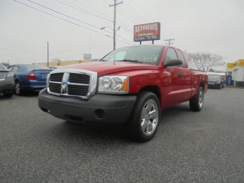 2007 Dodge Dakota for sale at Autohaus of Greensboro in Greensboro NC