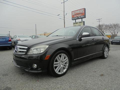2008 Mercedes-Benz C-Class for sale at Autohaus of Greensboro in Greensboro NC