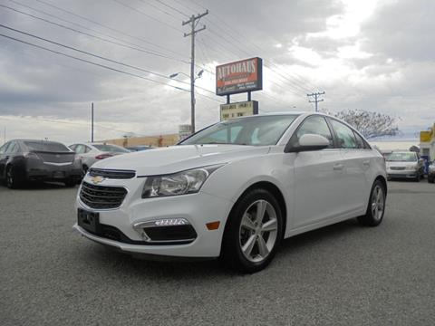 2015 Chevrolet Cruze for sale at Autohaus of Greensboro in Greensboro NC