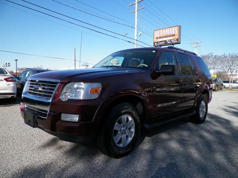 2009 Ford Explorer for sale at Autohaus of Greensboro in Greensboro NC