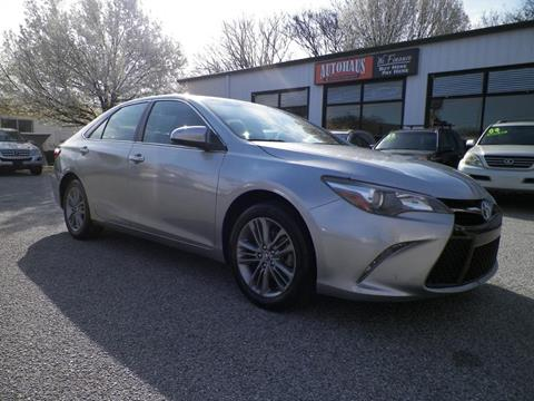 2015 Toyota Camry for sale at Autohaus of Greensboro in Greensboro NC