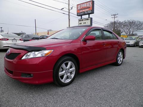 2009 Toyota Camry for sale at Autohaus of Greensboro in Greensboro NC