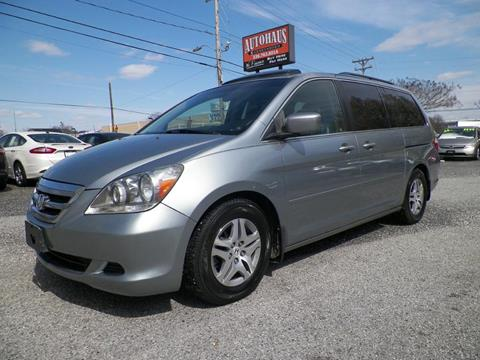 2007 Honda Odyssey for sale at Autohaus of Greensboro in Greensboro NC