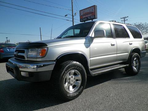 1999 Toyota 4Runner for sale at Autohaus of Greensboro in Greensboro NC