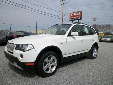 2007 BMW X3 for sale at Autohaus of Greensboro in Greensboro NC