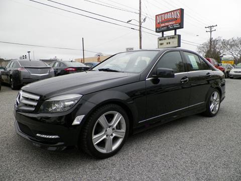 2011 Mercedes-Benz C-Class for sale at Autohaus of Greensboro in Greensboro NC
