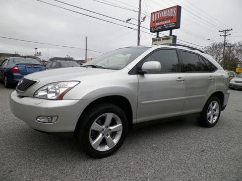 2005 Lexus RX 330 for sale at Autohaus of Greensboro in Greensboro NC