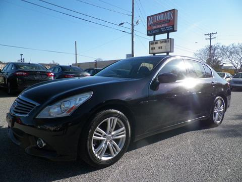 2012 Infiniti G37 Sedan for sale at Autohaus of Greensboro in Greensboro NC
