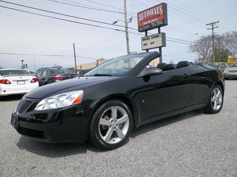 2007 Pontiac G6 for sale at Autohaus of Greensboro in Greensboro NC
