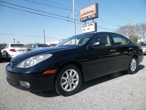 2002 Lexus ES 300 for sale at Autohaus of Greensboro in Greensboro NC